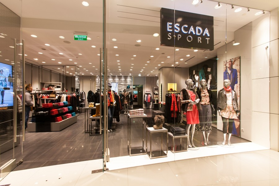Boutique Escada sport, Vremena Goda Galleries, Moscow, Kutuzovsky Prospekt, 48