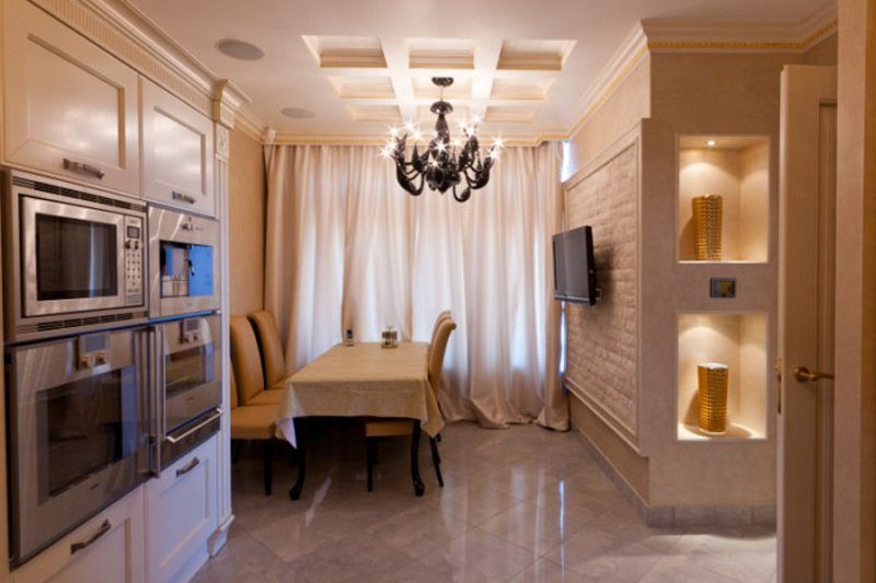 Private apartment, Moscow, Chapaevsky lane