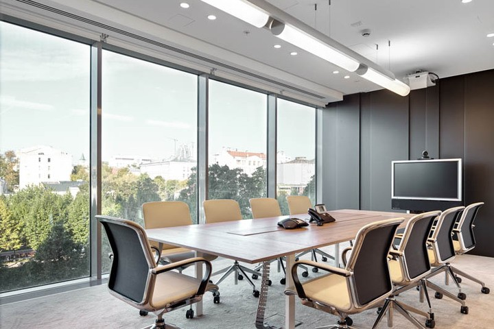 extraordinary investment bank office | Office of a French Investment bank in Multifunctional ...